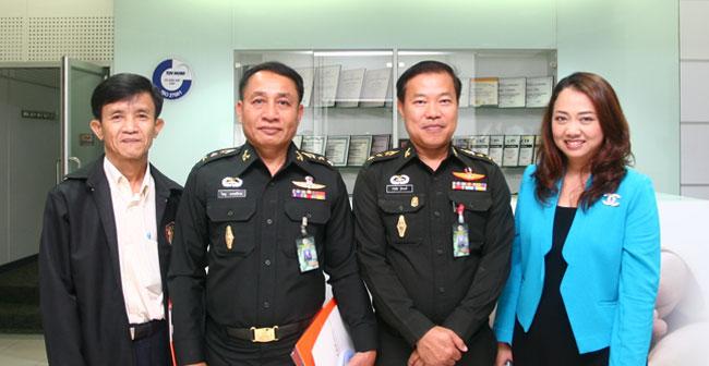 กองอำนวยการรักษาความมั่นคงภายในราชอาณาจักร ศึกษาดูงานที่ศูนย์ปฏิบัติการ Security Operation Center (SOC)