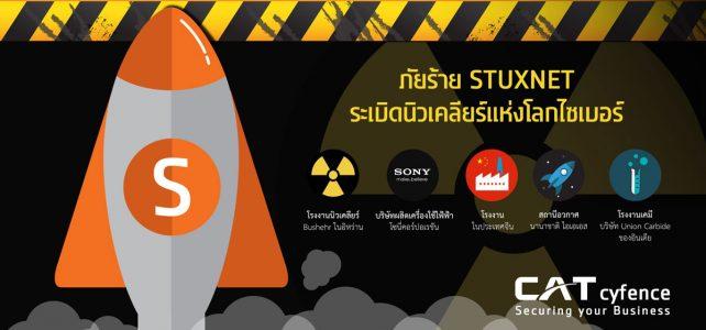 ภัยร้าย STUXNET ระเบิดนิวเคลียร์แห่งโลกไซเบอร์