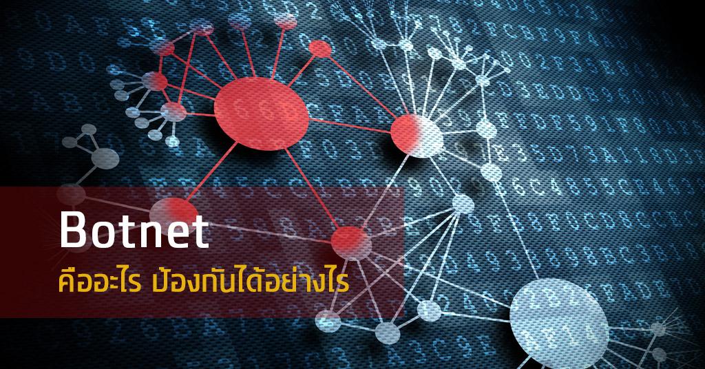 Botnet คืออะไร ป้องกันได้อย่างไร?