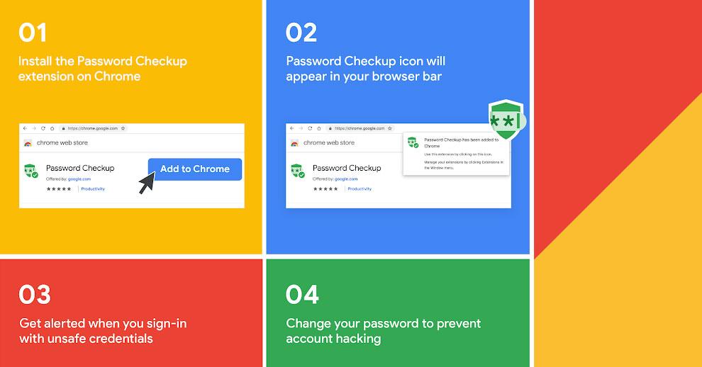 Google ออกเครื่องมือที่ช่วยเตือนผู้ใช้เมื่อนำชุดข้อมูลผู้ใช้ที่เคยรั่วไหลมาใช้