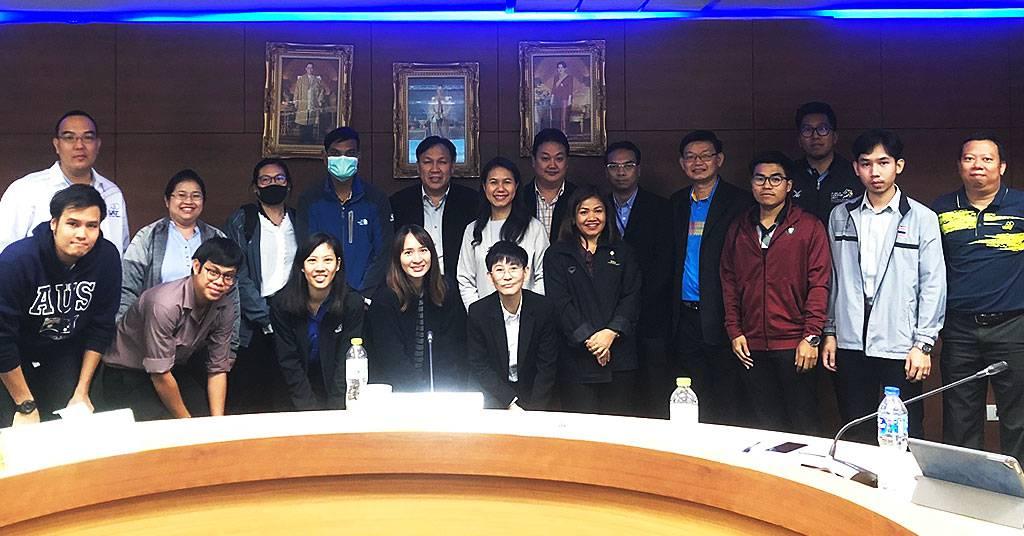 บรรยายหลักสูตรการบริหารความต่อเนื่องทางธุรกิจ การกีฬาแห่งประเทศไทย