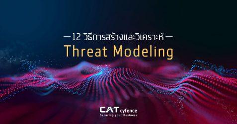 12 วิธีการสร้างและวิเคราะห์ Threat Modeling