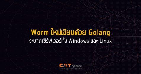 Worm ใหม่เขียนด้วย Golang ระบาดในเซิร์ฟเวอร์ Windows และ Linux