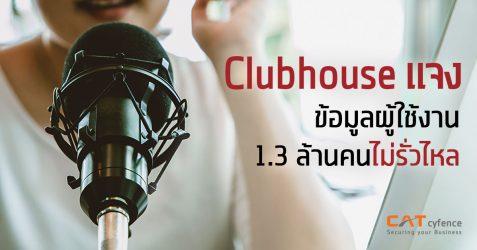 Clubhouse แจง ข้อมูลผู้ใช้งาน 1.3 ล้านคนไม่ได้รั่วไหล